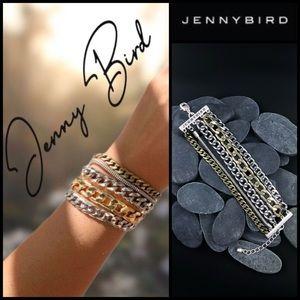 Jenny Bird Austin Chain Cuff Bracelet